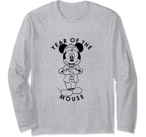 Disney Mickey Year Of The Mouse Long Sleeve T Shirt