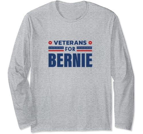 Veterans For Bernie, Bernie Sanders 2020 President Long Sleeve T Shirt