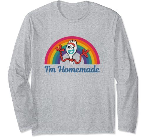Disney Pixar Toy Story Forky I'm Homemade Rainbow Long Sleeve T Shirt