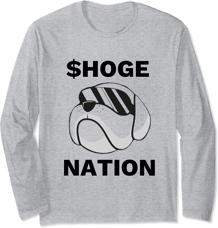 $Hoge Army Shirt Hoge Finance Coin Shirt $Hoge Crypto Long Sleeve T-Shirt-TH