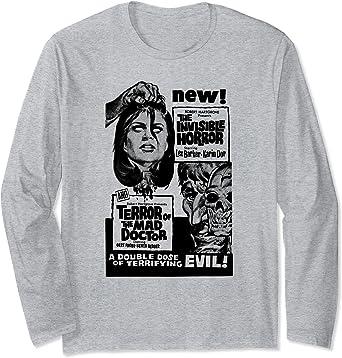 Vintage Art Horror Design TShirt Size Large