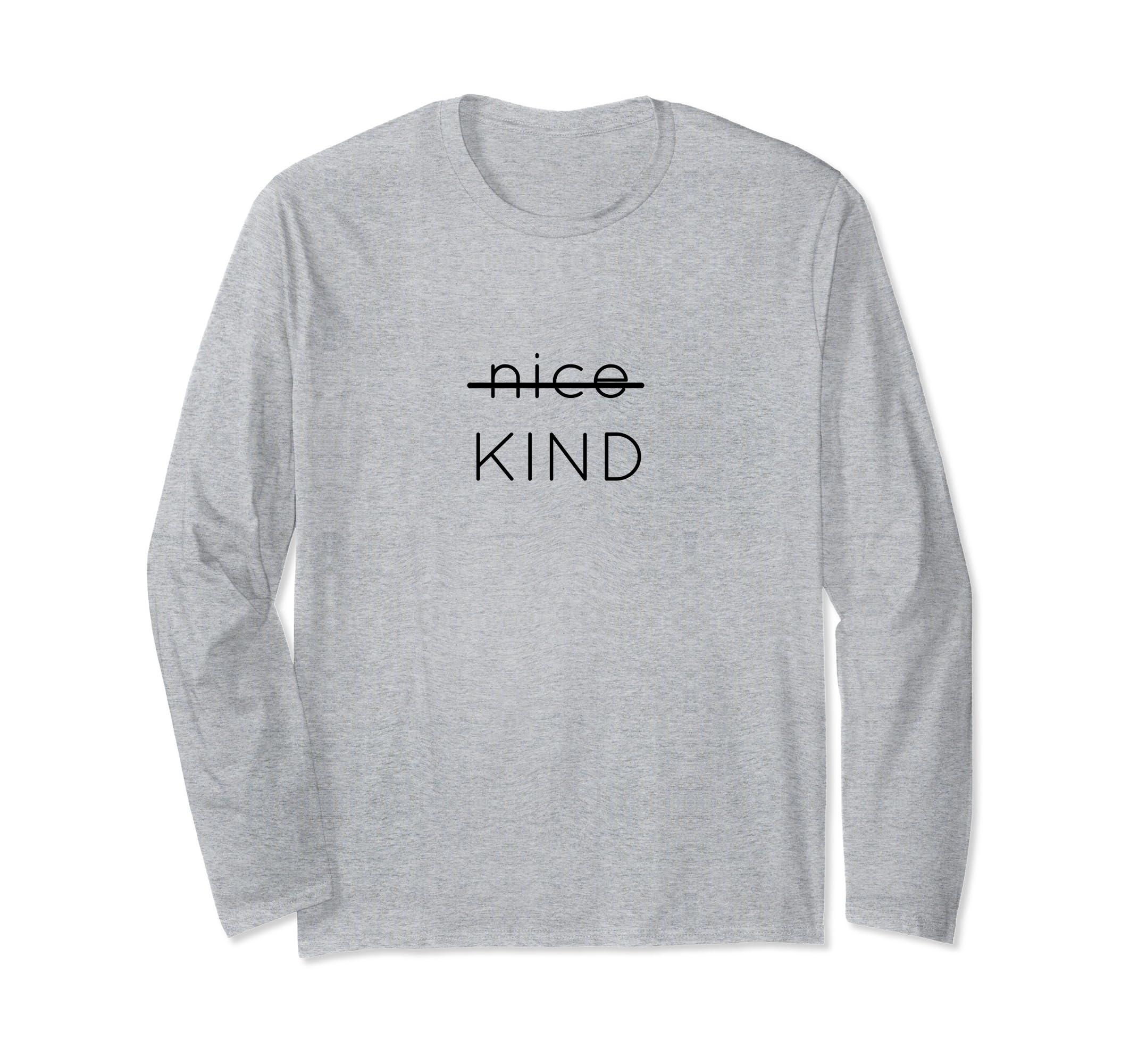 Not Nice. KIND. Mocha Tribe Shirt Autism Education/Awareness-4LVS