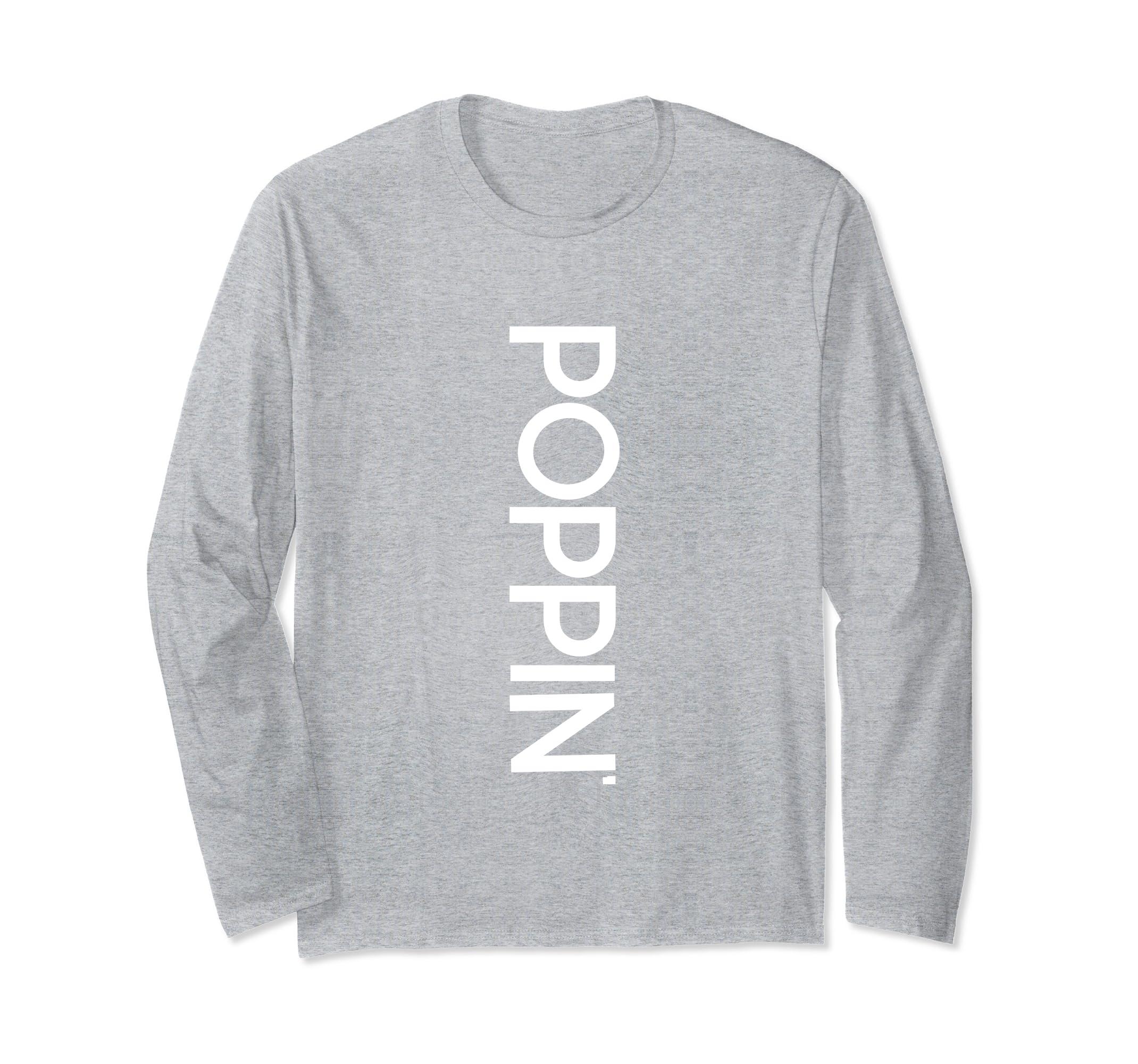 Long Sleeve Melanin Poppin Cute Simple Tshirt-Bawle