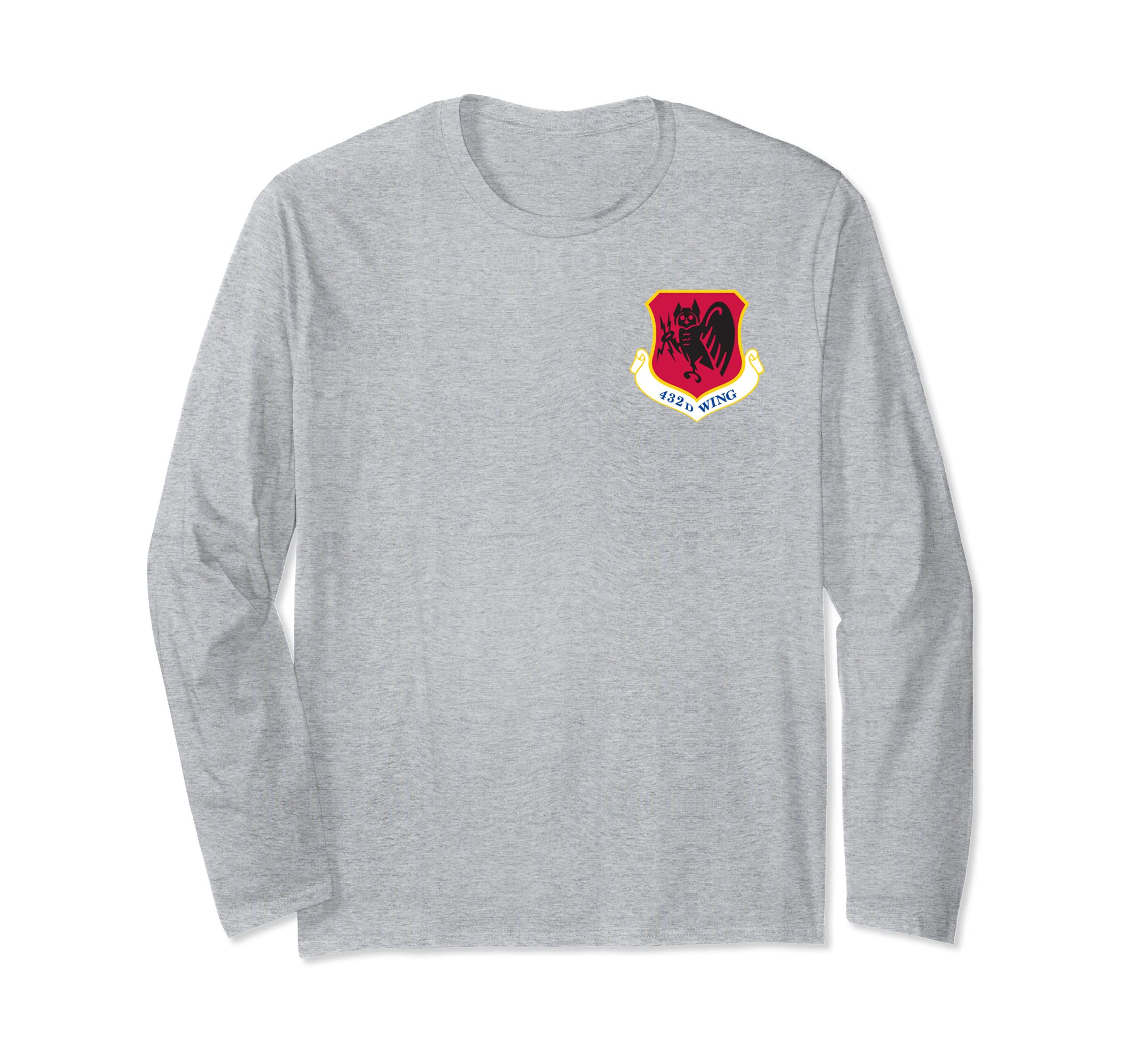 432d Wing Creech Air Force ACC Unmanned Aircraft Long Sleeve-azvn