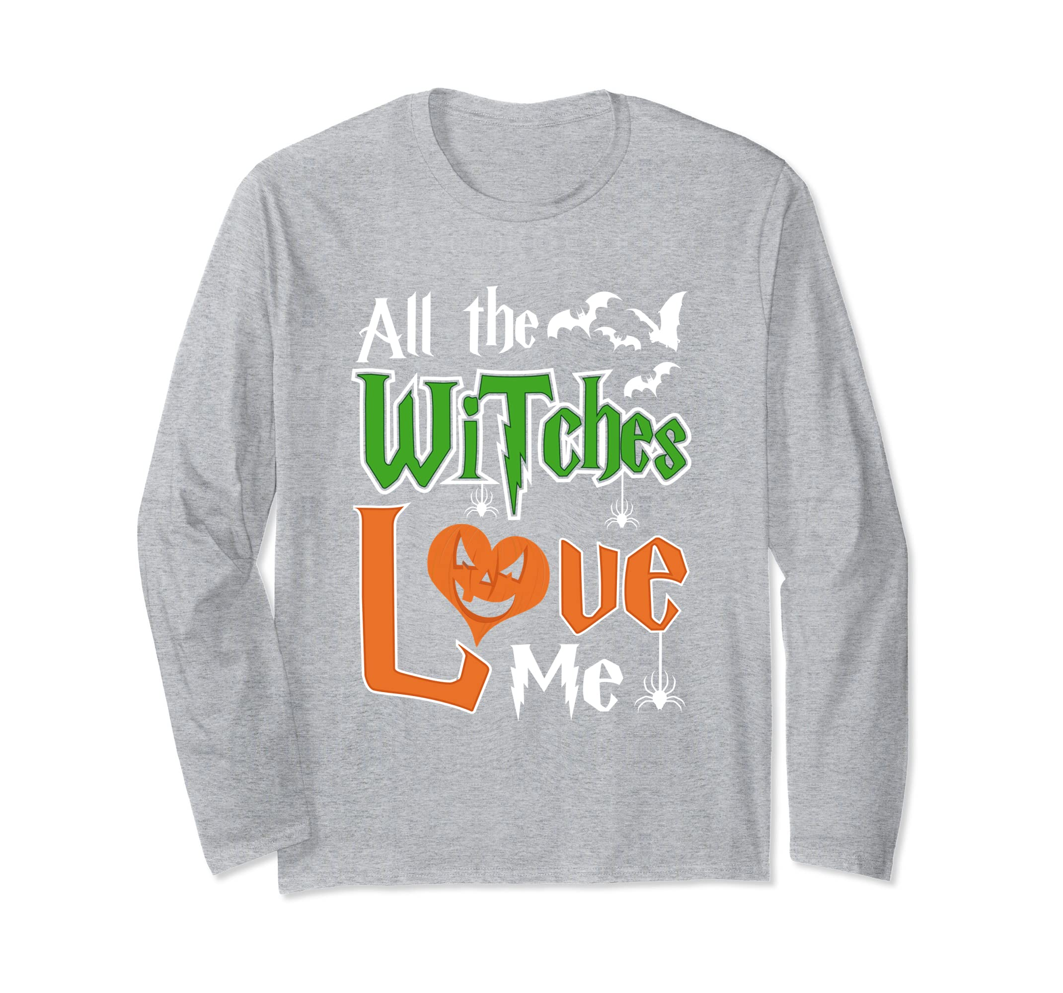 YasDesign All The Witches Love Me Long Sleeve-ln