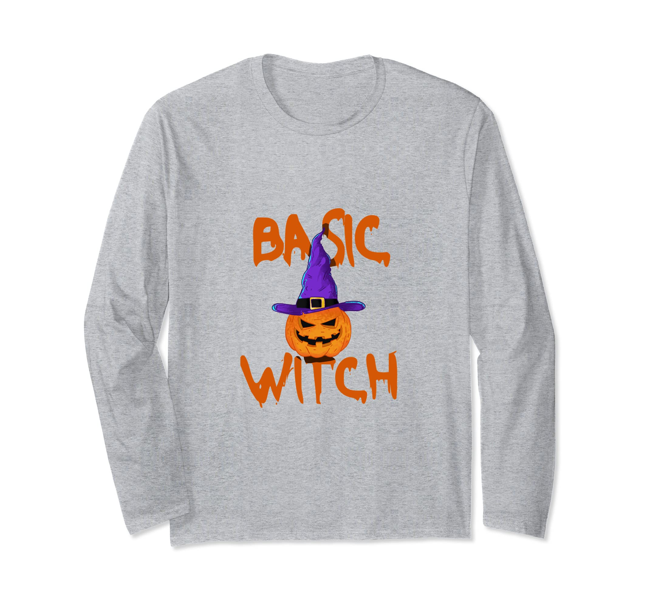 basic witch happy halloween long sleeve shirt anz