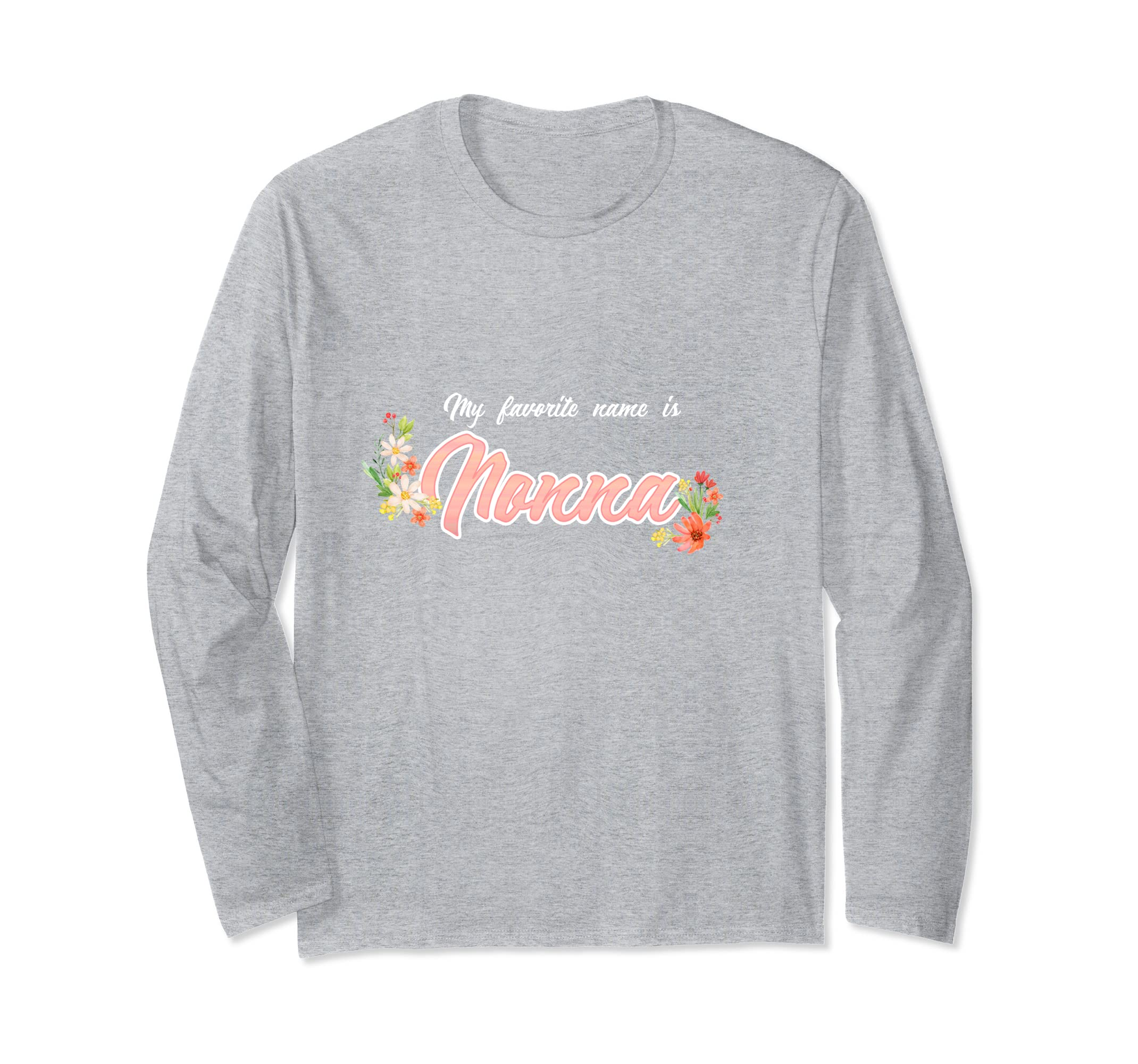 My Favorite Name is Nonna Shirt Great Gifts from Grandkids-ln