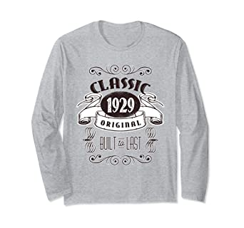 Image Unavailable Not Available For Color Classic 1929 90th Birthday Celebration T Shirt Distressed