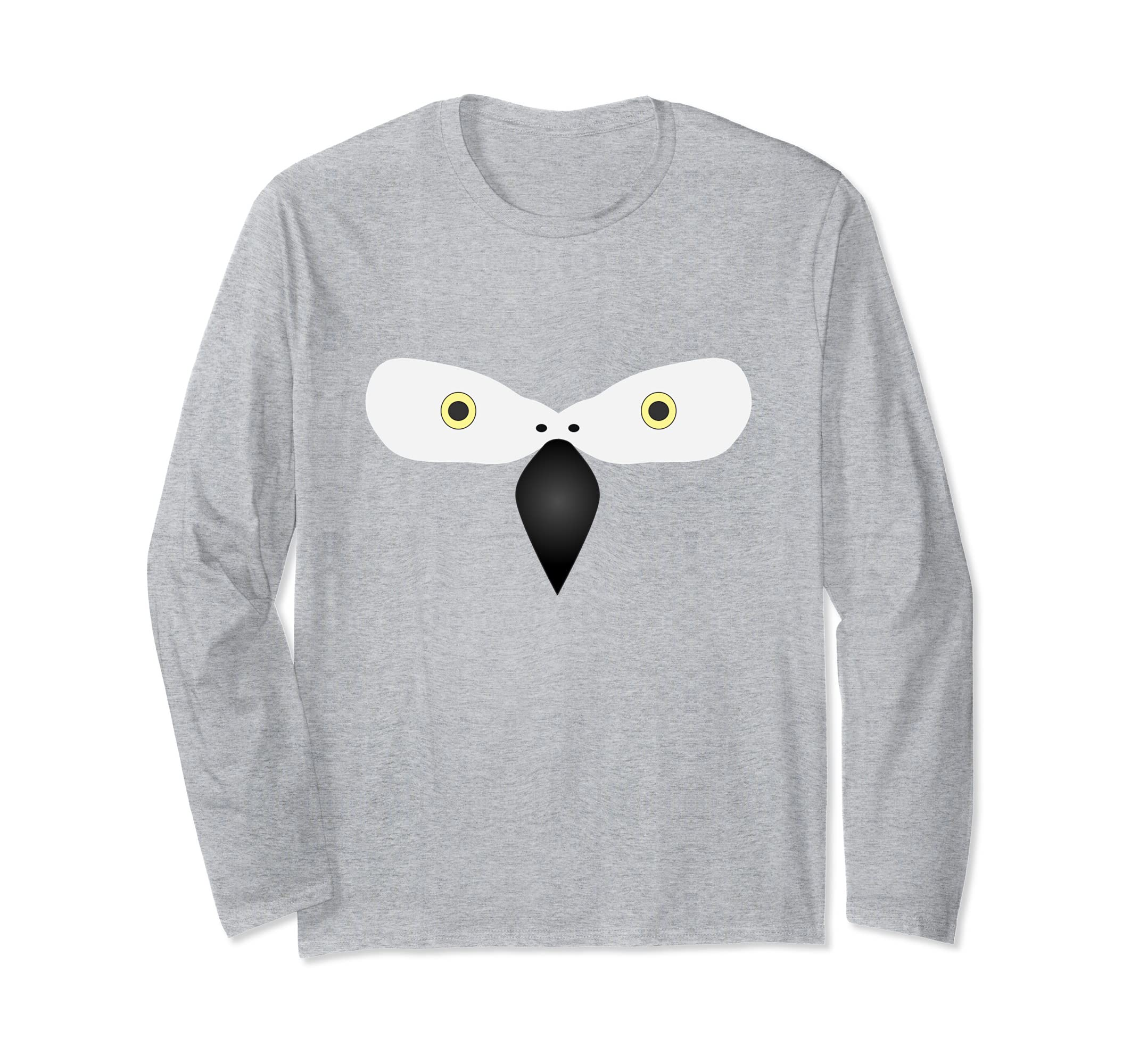 African Grey Parrot Bird Halloween Costume Long Sleeve Shirt-ANZ