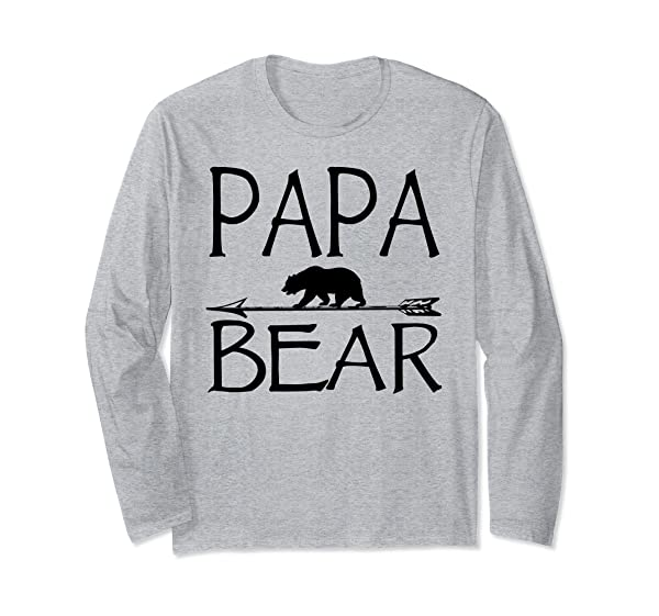 Papa Bear Father S Day Gift Idea For Dad T Shirt
