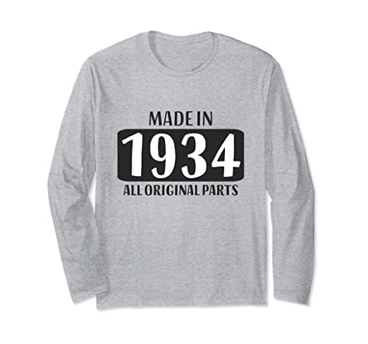 Image Unavailable Not Available For Color 85th Birthday Long Sleeve Gift Grandma Age 85 Year Old Women