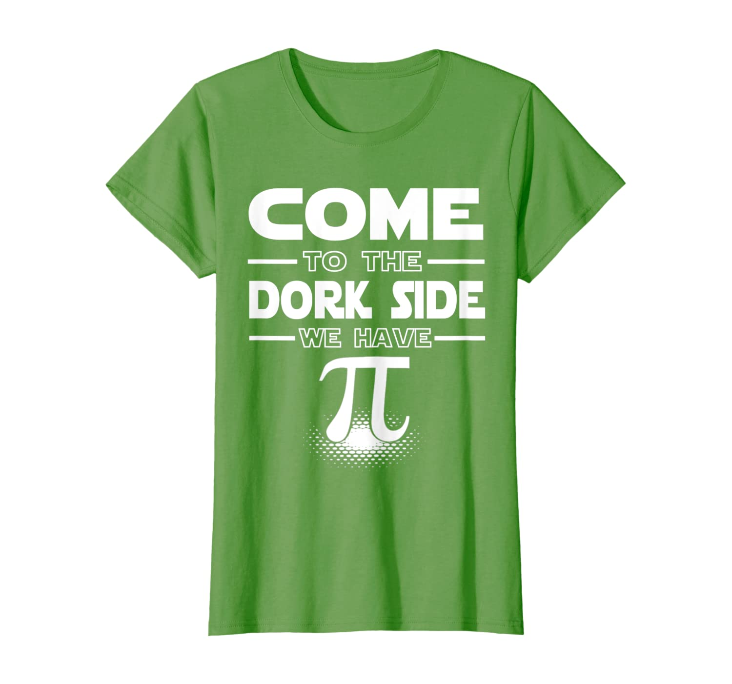 Come To The Math Side We Have Pi T Shirt, Pi Day Gift Shirt-Awarplus