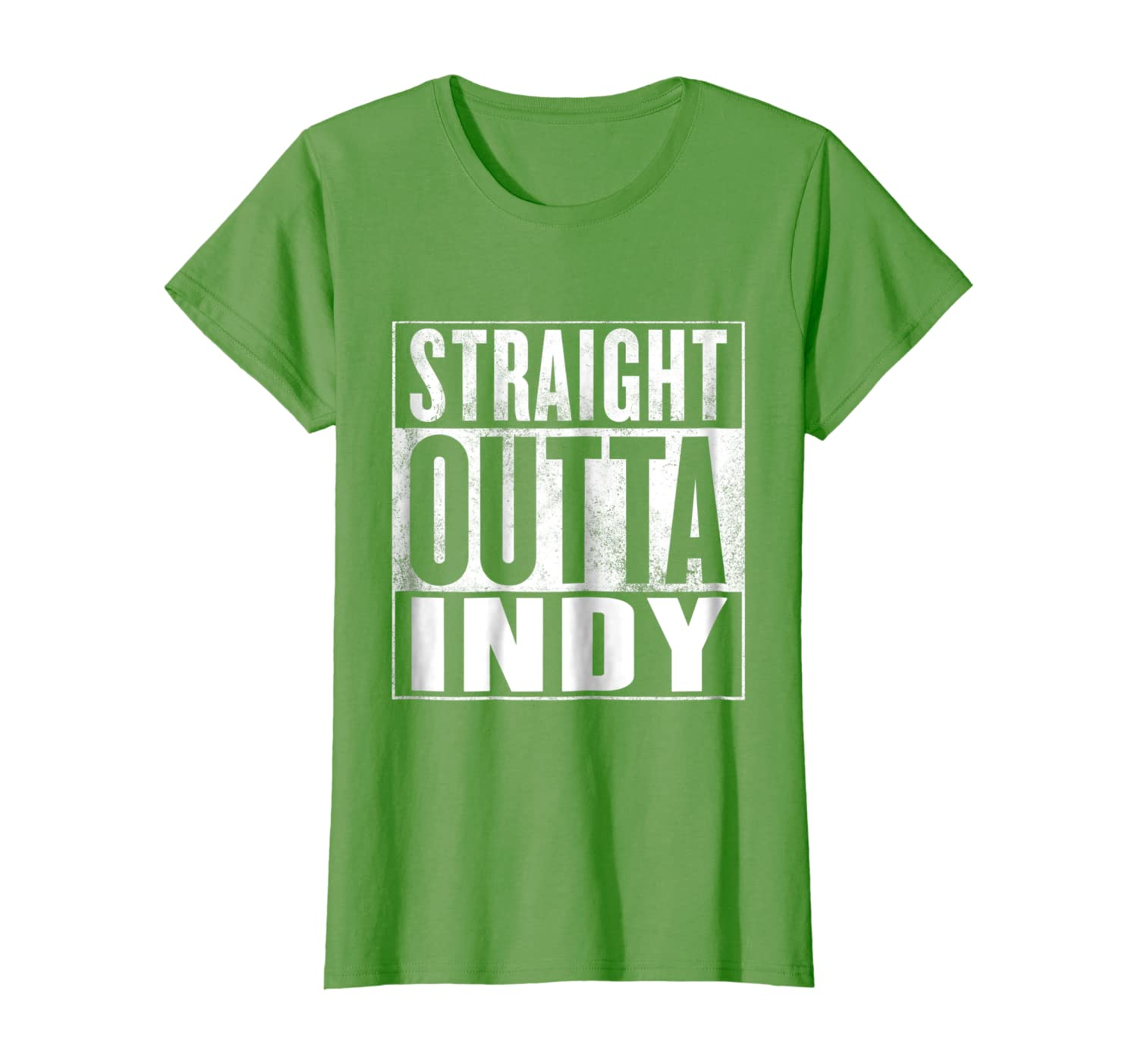 Amazon Com Indy T Shirt Straight Outta Indy Shirt Clothing