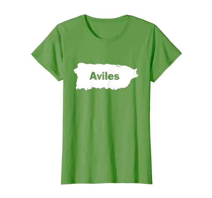 Amazon.com: Aviles apellido playera, camisas de Puerto Rico ...