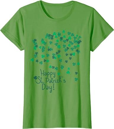 Irish Day Tee St Patricks Day Tee Funny T shirt Gift St Patricks Day Saint Patricks Day Happy Thainth Patrith Day