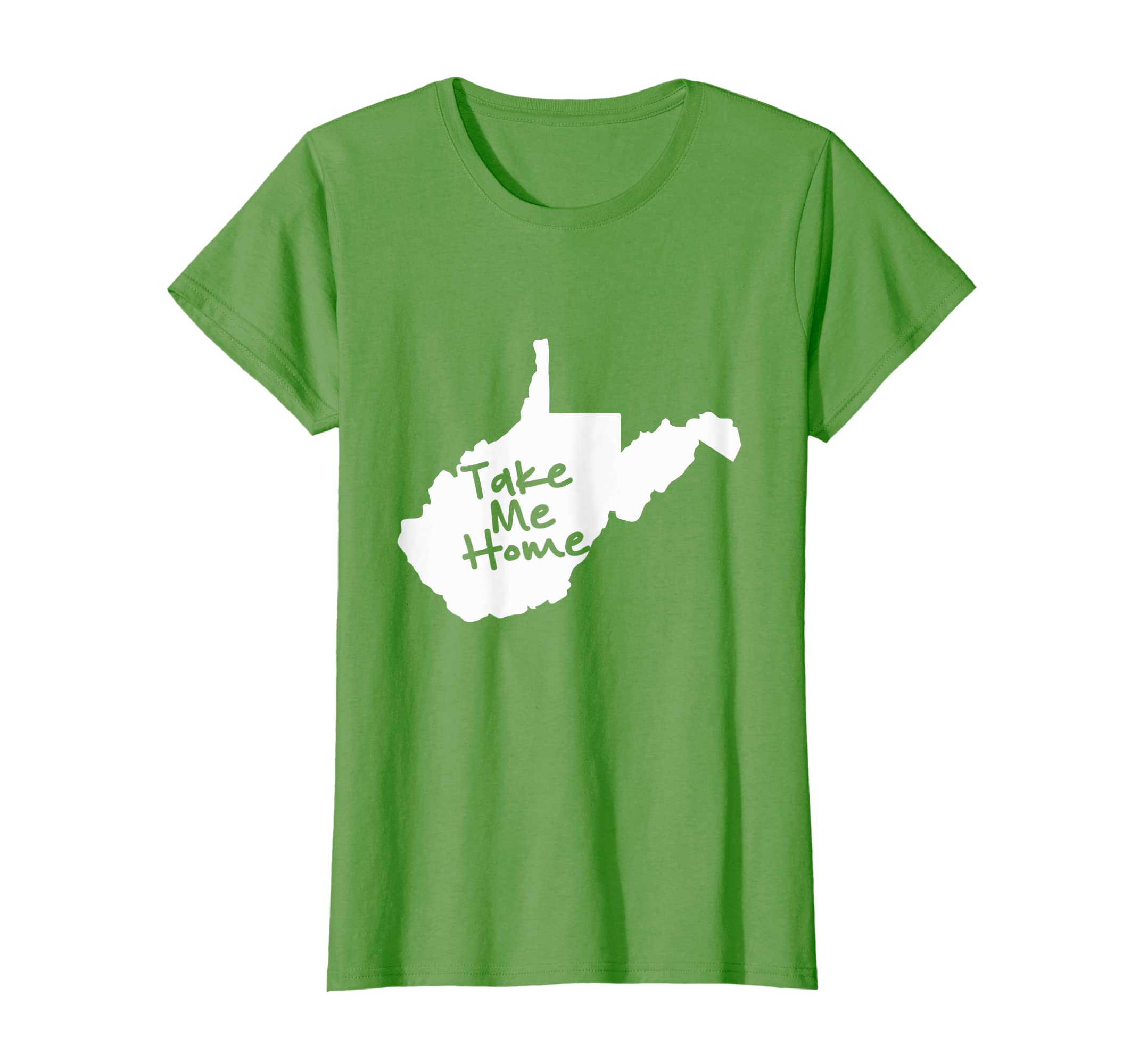 af913a30c4afd Amazon.com: WV Take Me Home T-shirt: Clothing