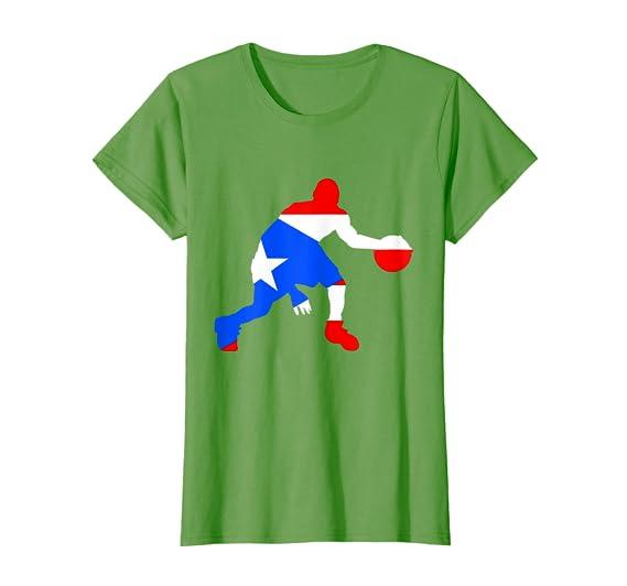 b497f7165af Amazon.com: Puerto Rico Basketball Shirt - Puerto Rican Flag Sport Shirt:  Clothing