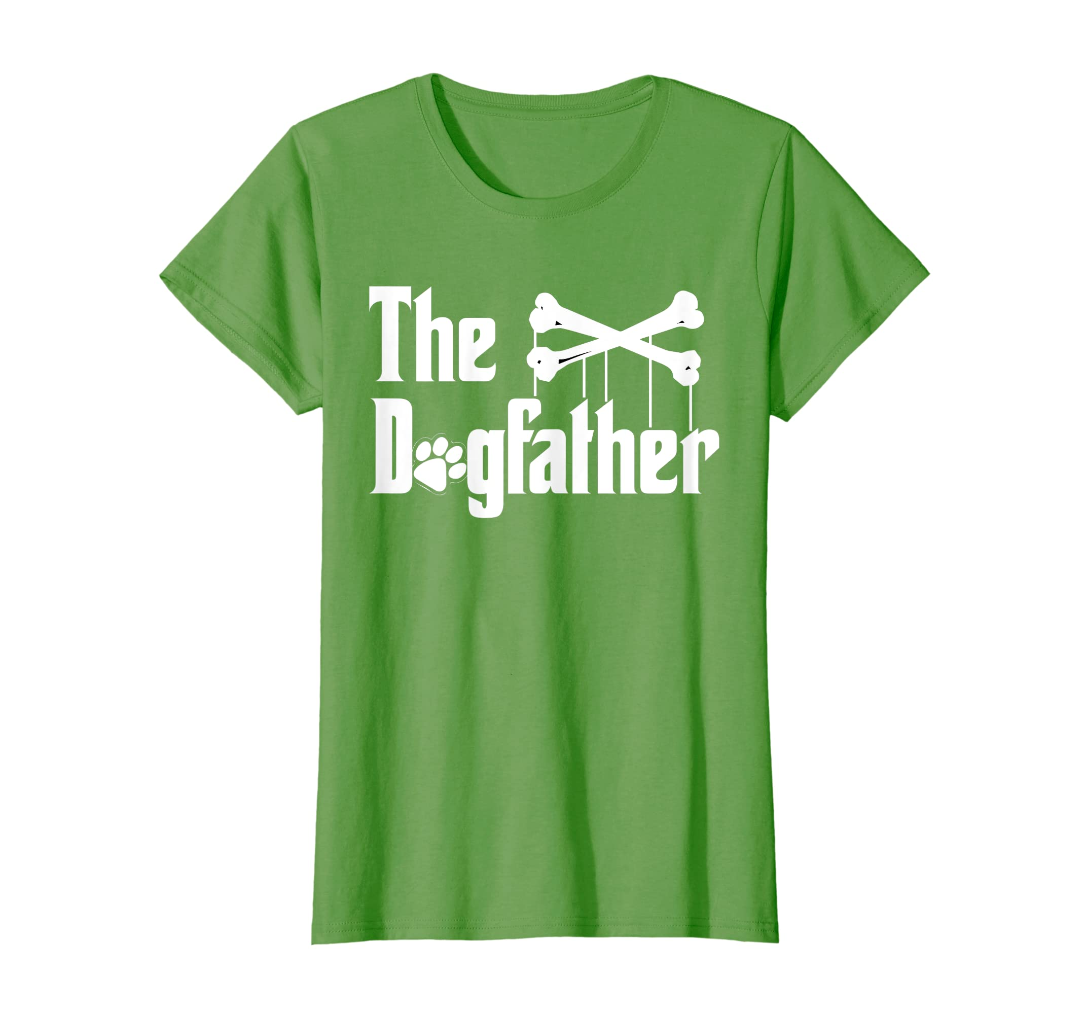 fe6b6c23 Amazon.com: The Dogfather Shirt Dog T-shirt | Funny Father's Day Dad Tee:  Clothing