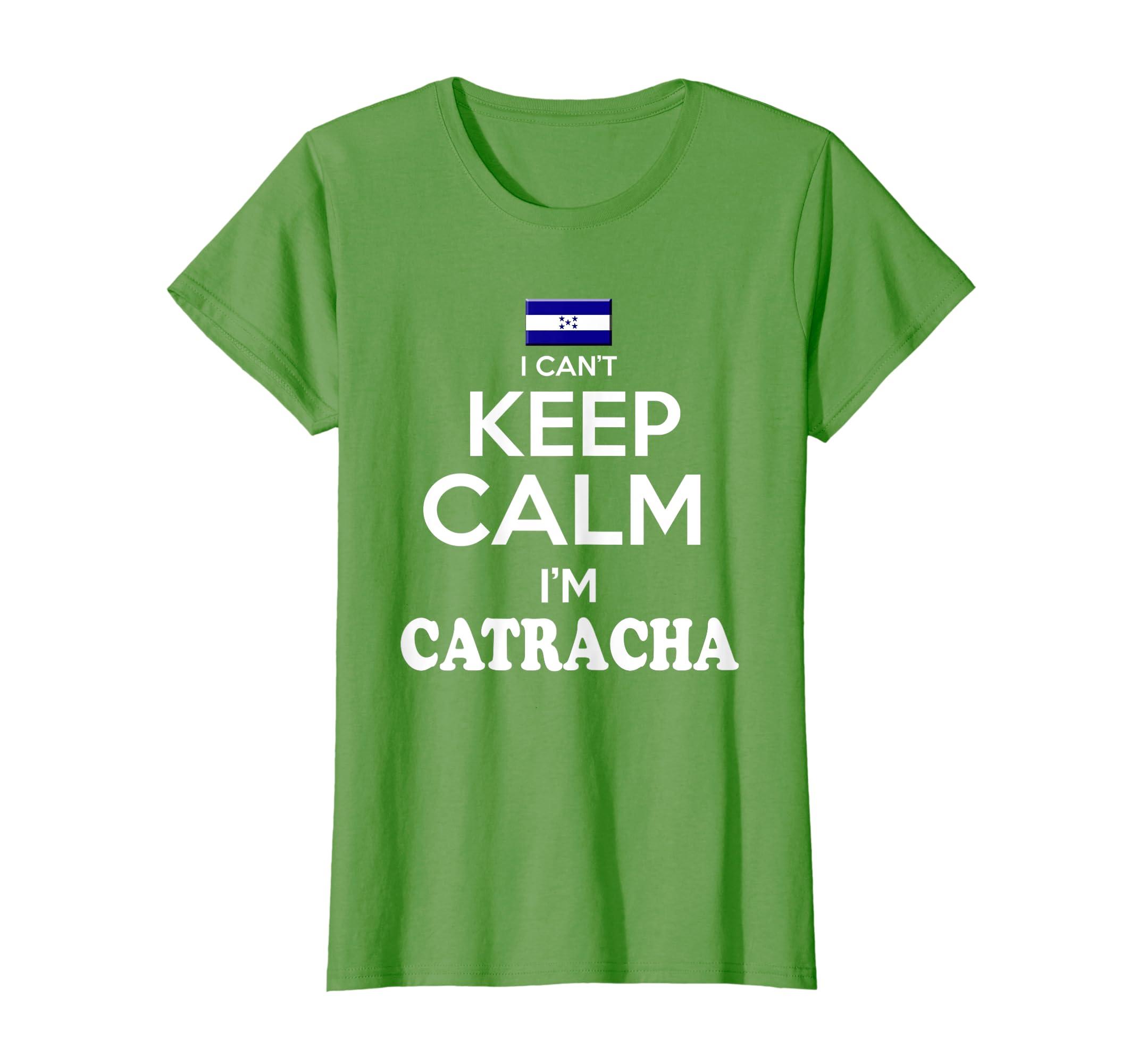 Amazon.com  Womens Honduras Keep Calm Best tshirt Soy Catracha tshirt  Camiseta  Clothing 1422fc8b61d76