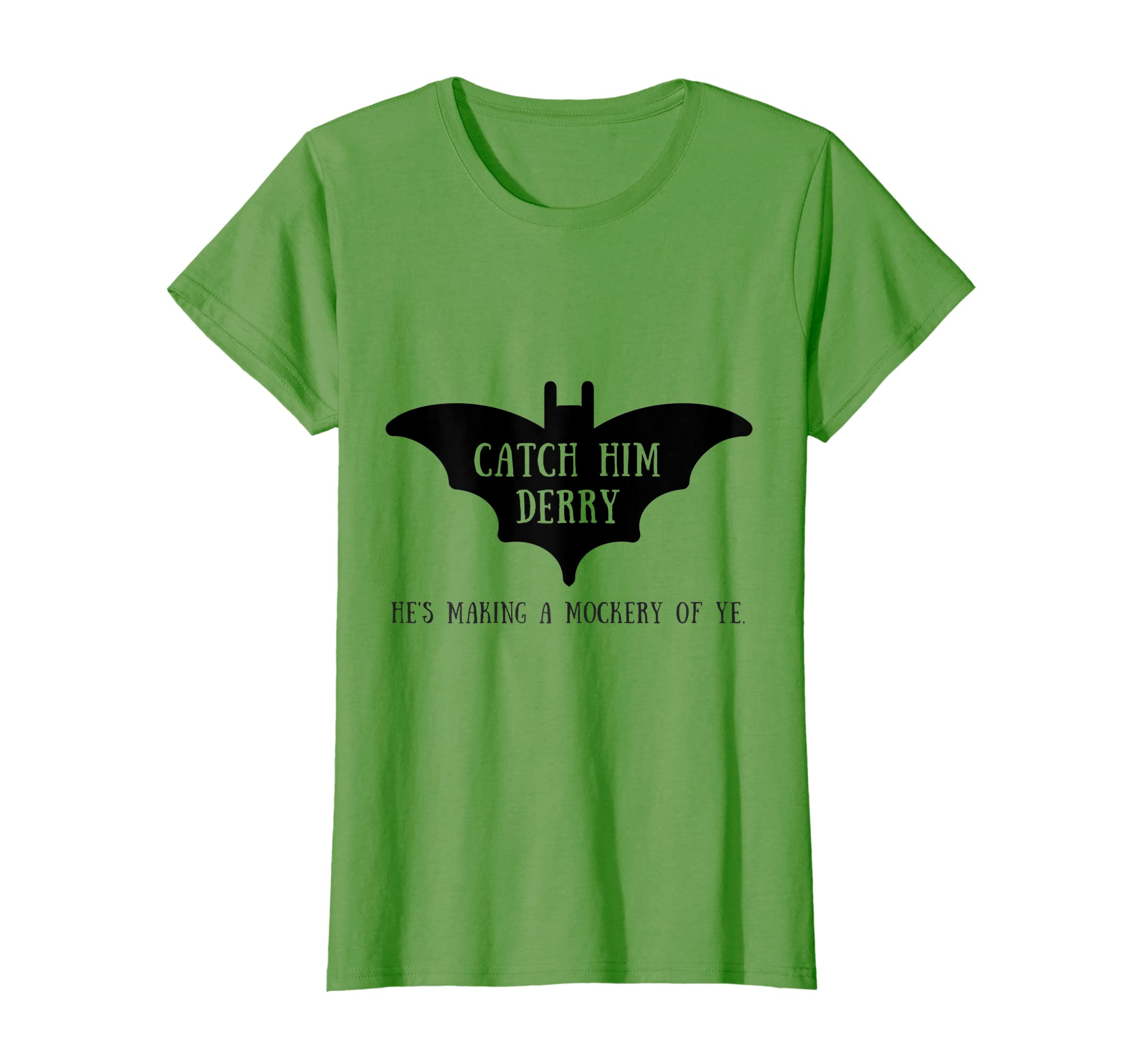 4eead2b7c Amazon.com: Catch Him Derry Irish Kitchen Bat Funny Video T-shirt: Clothing