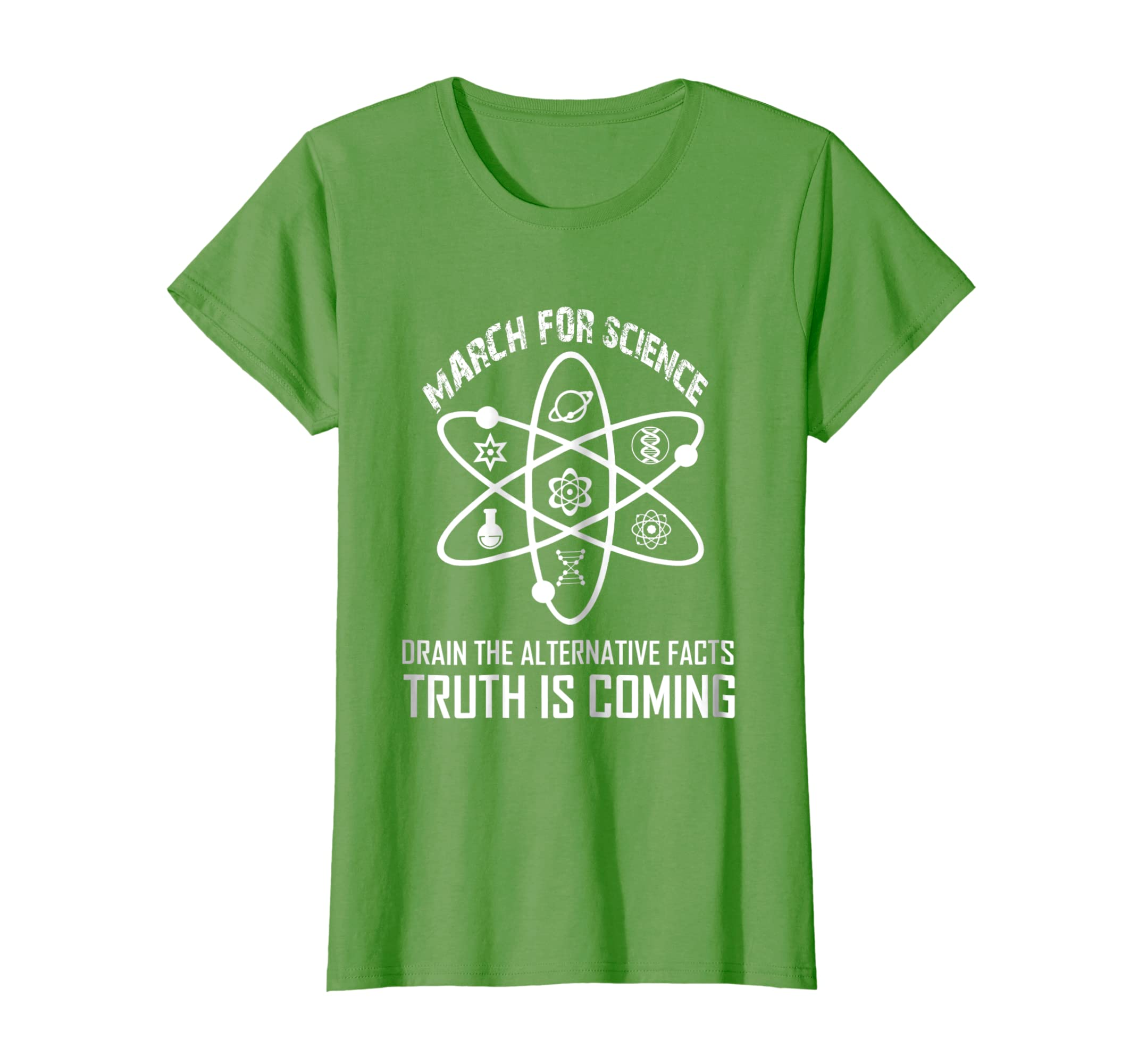 58f845810 Amazon.com: March For Science T-shirt Science March Tee Truth is Coming:  Clothing