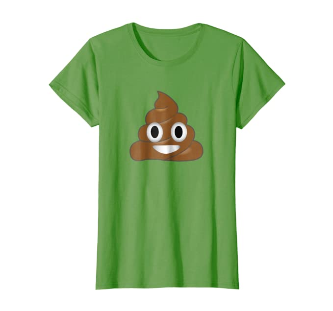 5266d03fd9 Amazon.com: Emoji Poop Shirt ~ Novelty Funny t-shirt: Clothing