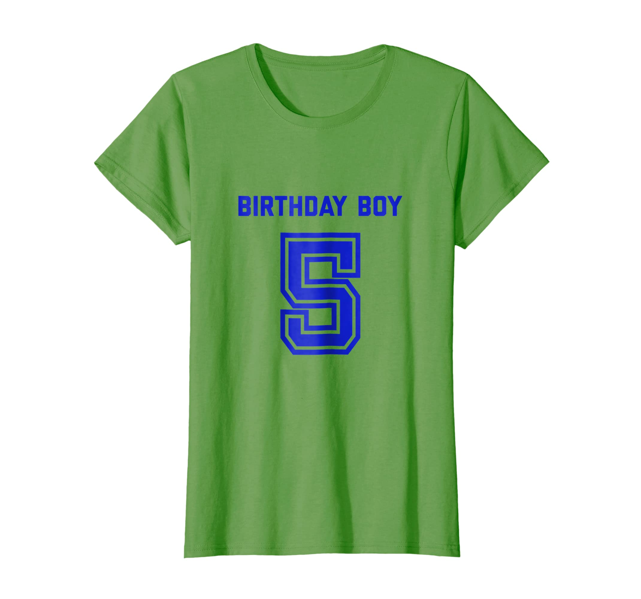 Amazon Boys 5th Birthday Shirt Gift Five Age 5 Year Old Boy Son Clothing