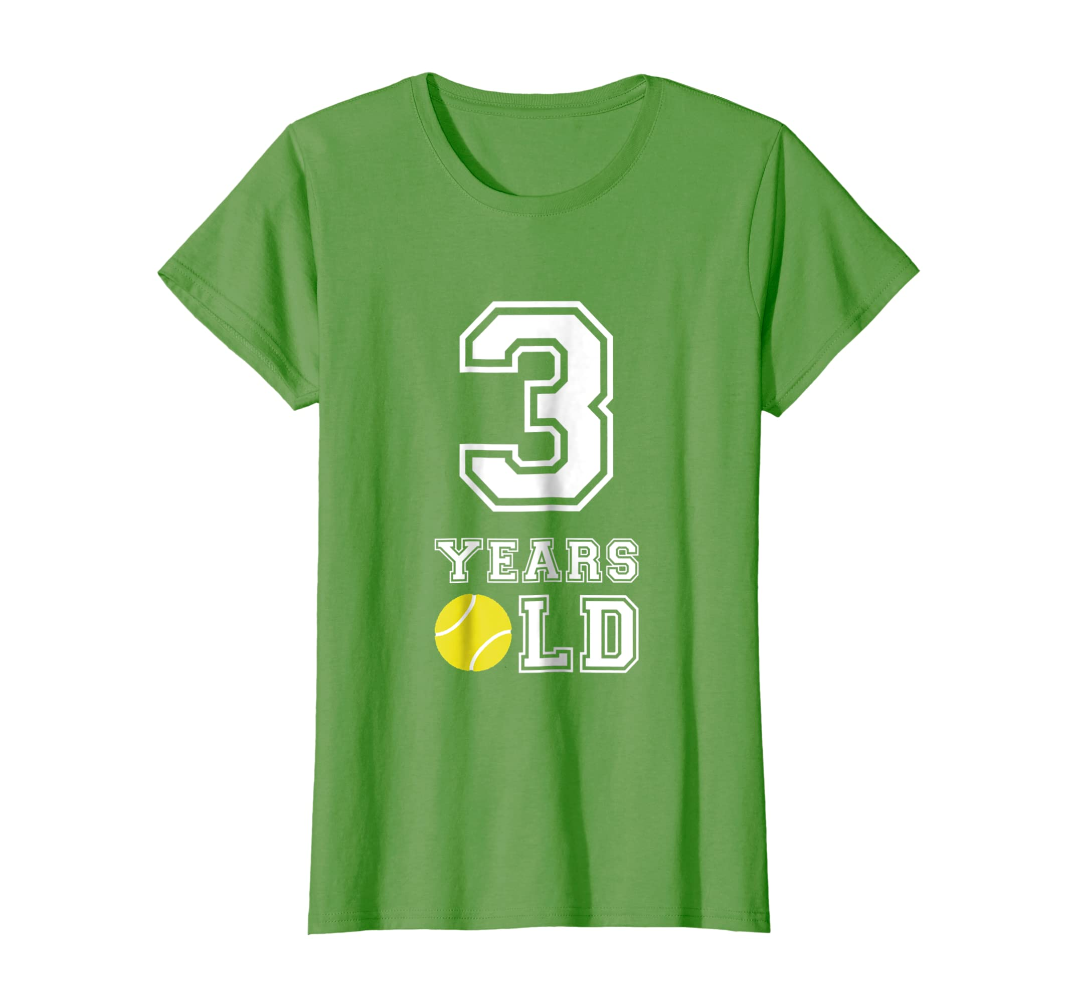 Amazon 3 Years Old Tennis Birthday Shirt Boys 3rd Gift Clothing