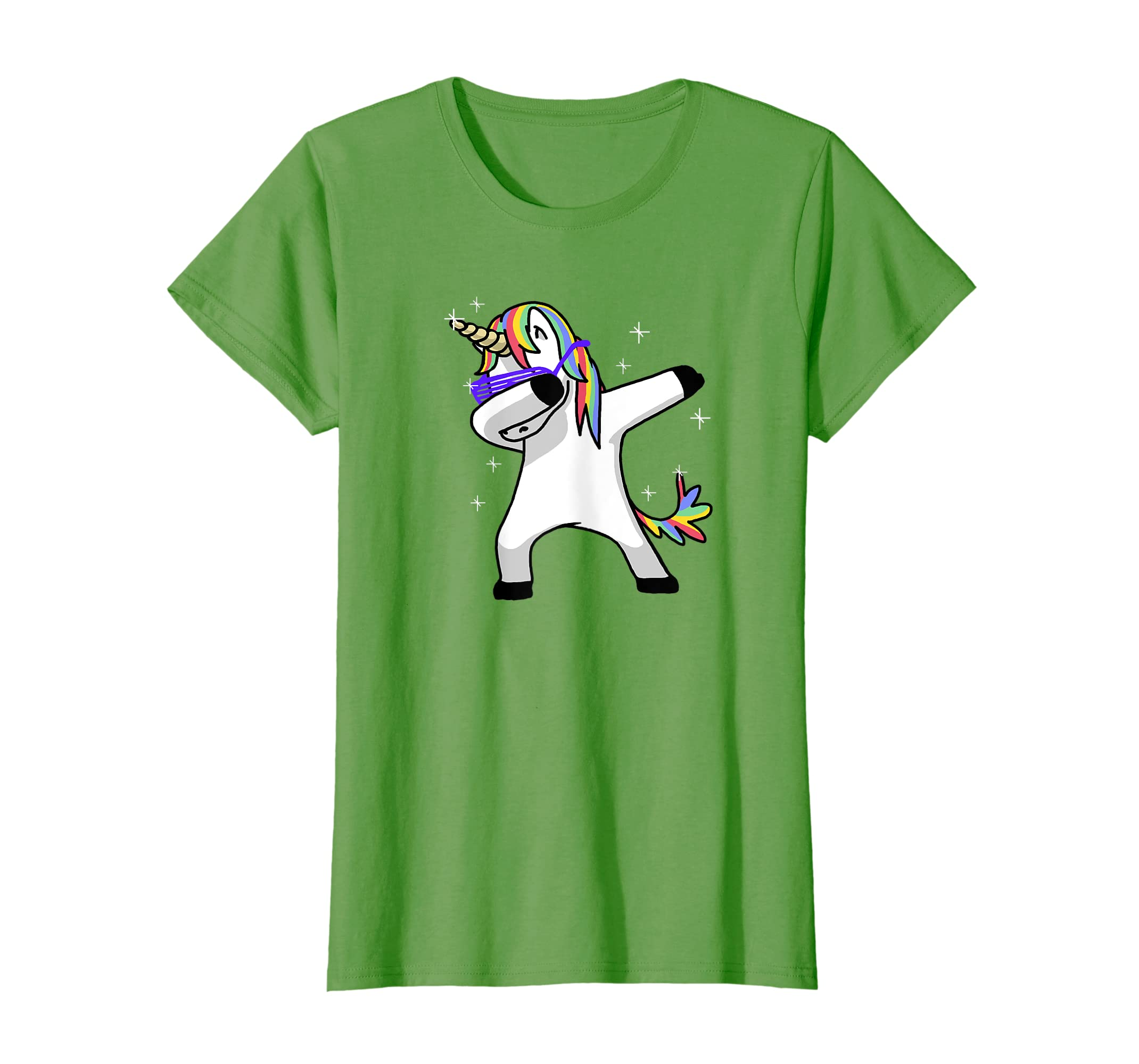 9ba28bd7420 Amazon.com  Dabbing Unicorn Shirt Dab Hip Hop Funny Magic  Clothing