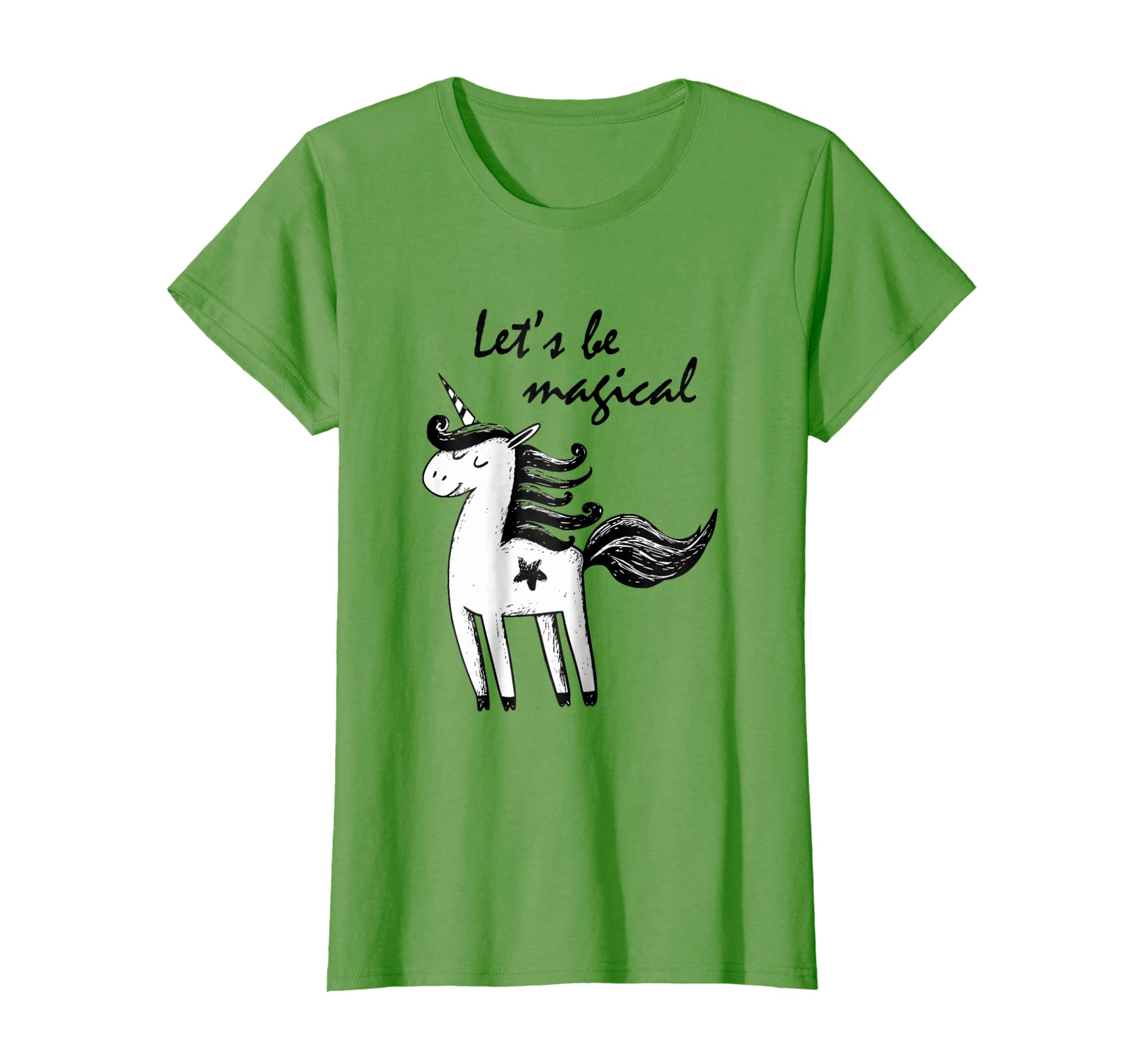 Let's Be Magical Unicorn T shirts for Women