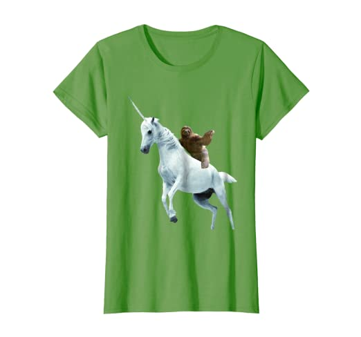 8fa94ed7cc9c Amazon.com: Unicorn Sloth T Shirt Design- Funny Animal T Shirt: Clothing