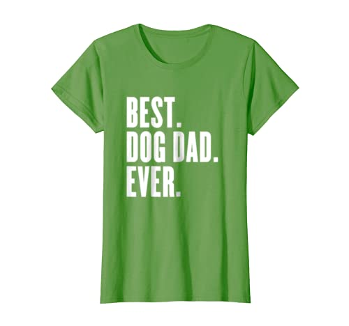 b1c5bd404 Amazon.com: Funny Best Dog Dad Ever T-Shirt - Best Dog Dad Ever Shirt:  Clothing