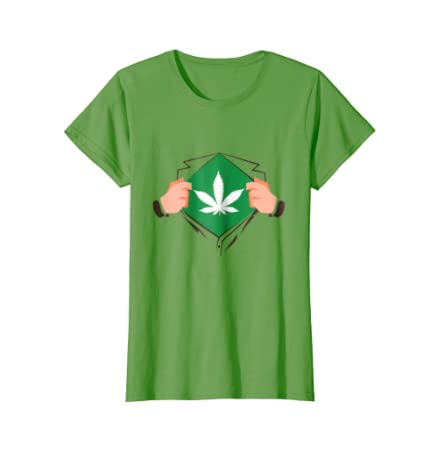 Weed Man Superhero Halloween Costume Marijuana T-shirt