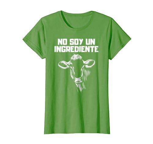 Amazon.com: No Soy Un Ingrediente Vegan Spanish Espanol T-Shirt Camiseta: Clothing