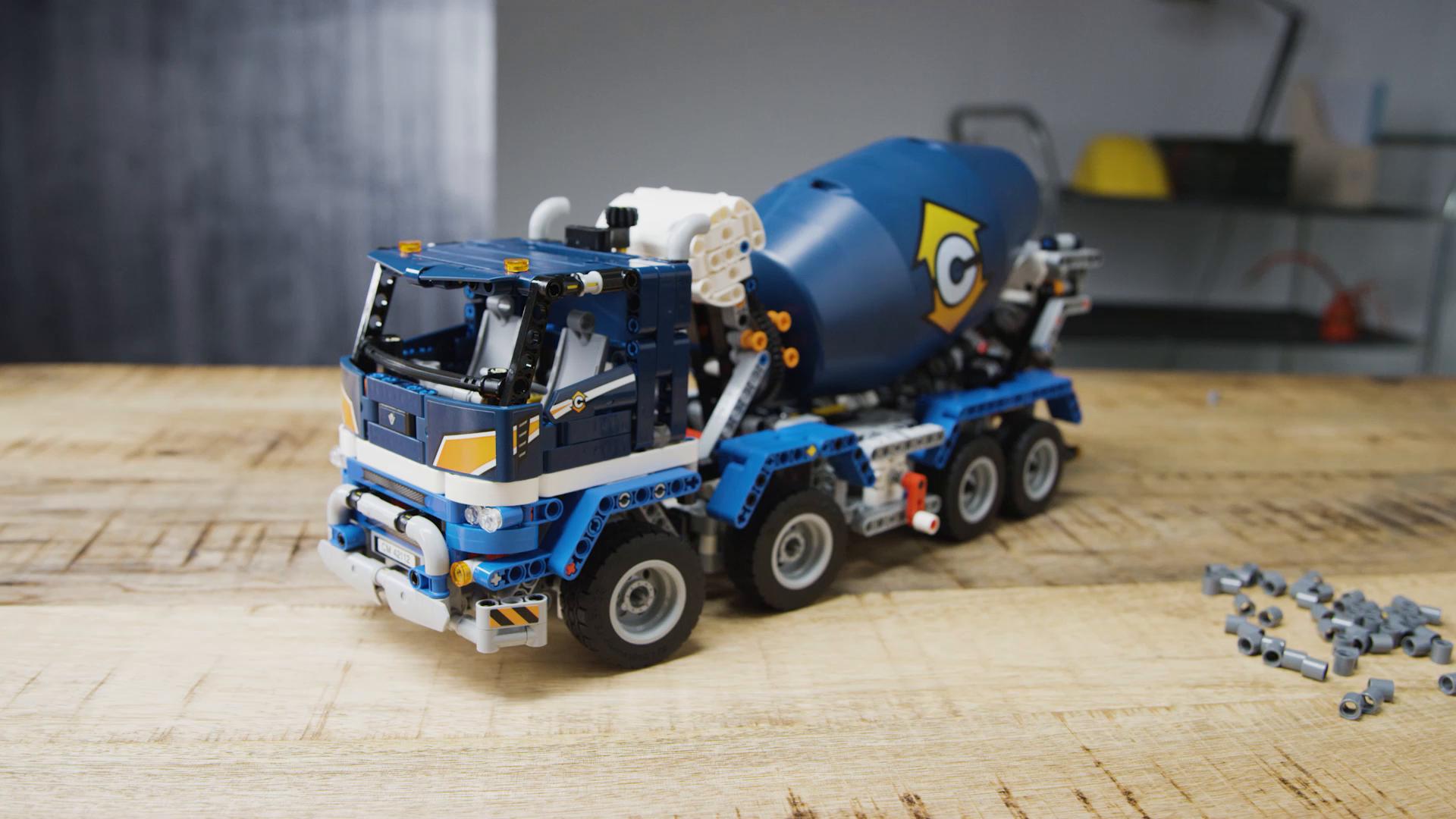 Lego Technic Technique 10x verticale connexion #63869 gris clair