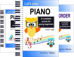 Let's Play Piano (4 Book Series)