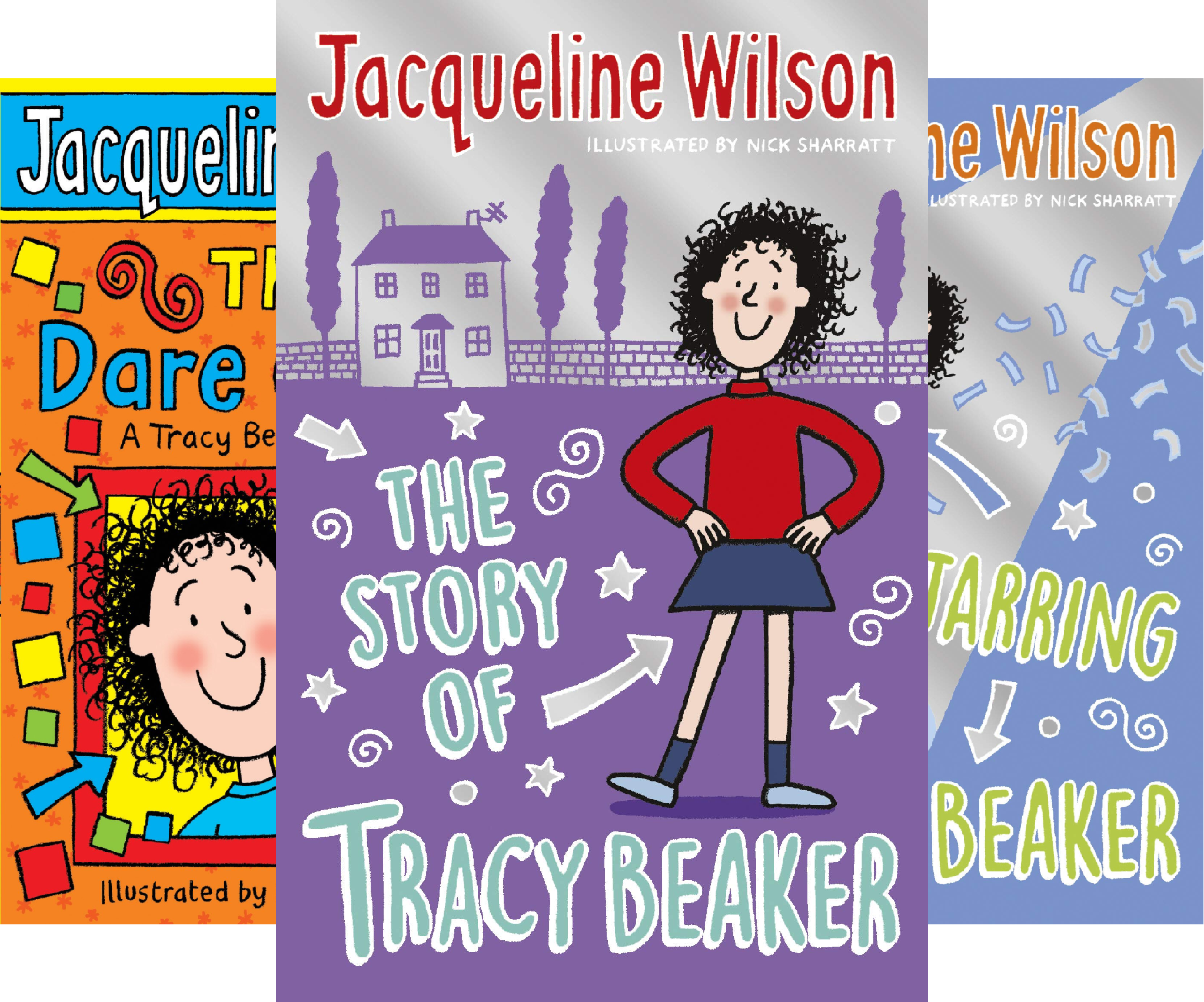 Tracy Beaker (3 Book Series)