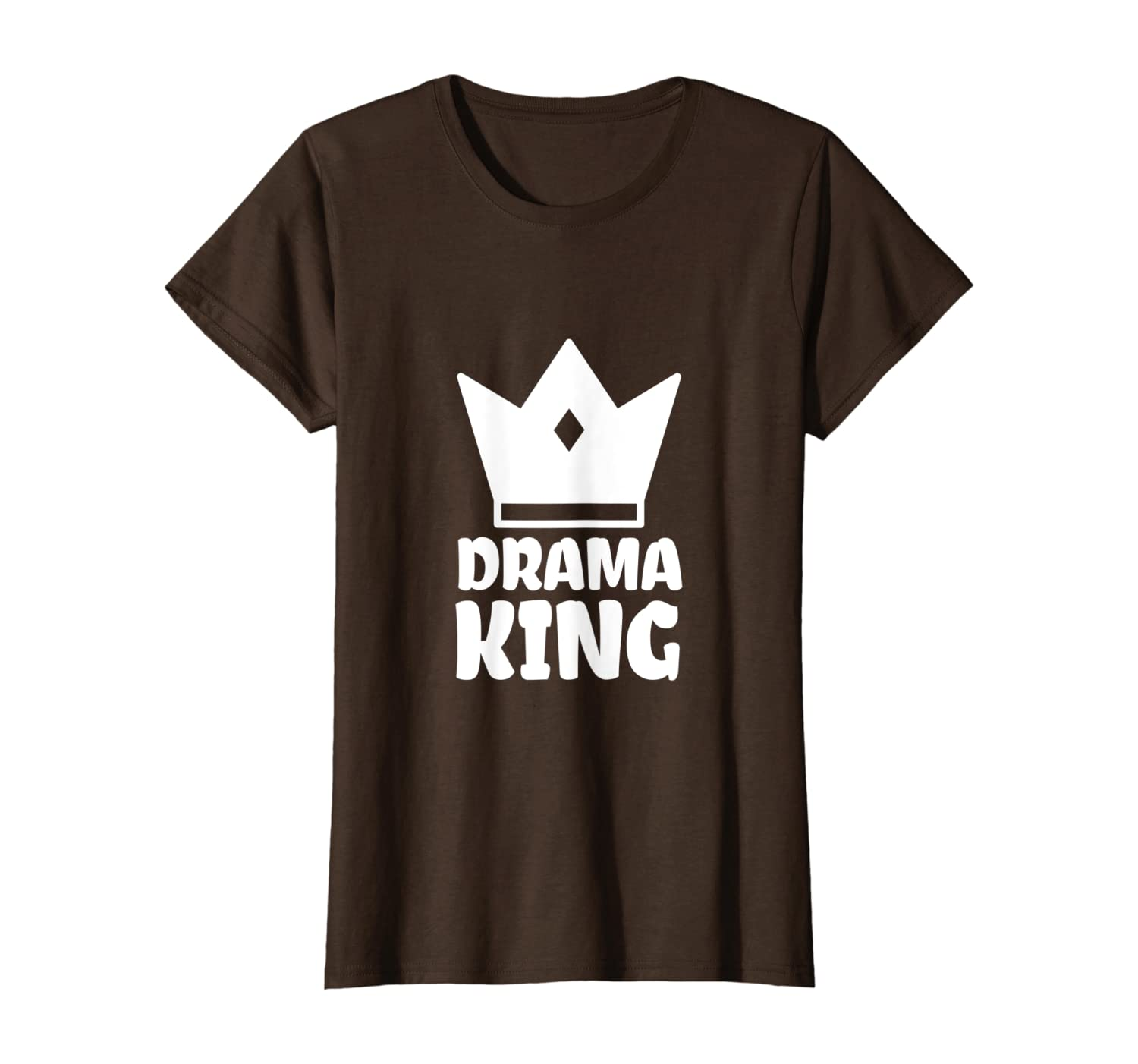 Drama King T-shirt for Men and Boys
