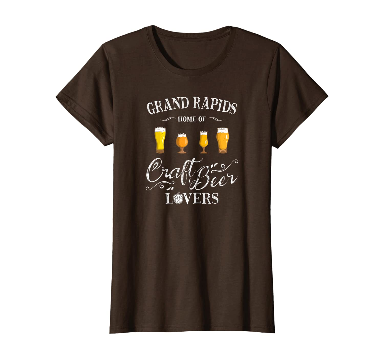 GRAND RAPIDS HOME OF CRAFT BEER LOVERS T-Shirt