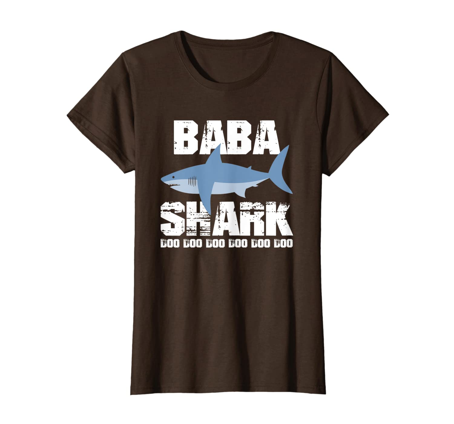 Cool Baba Shark T-Shirt-Yolotee