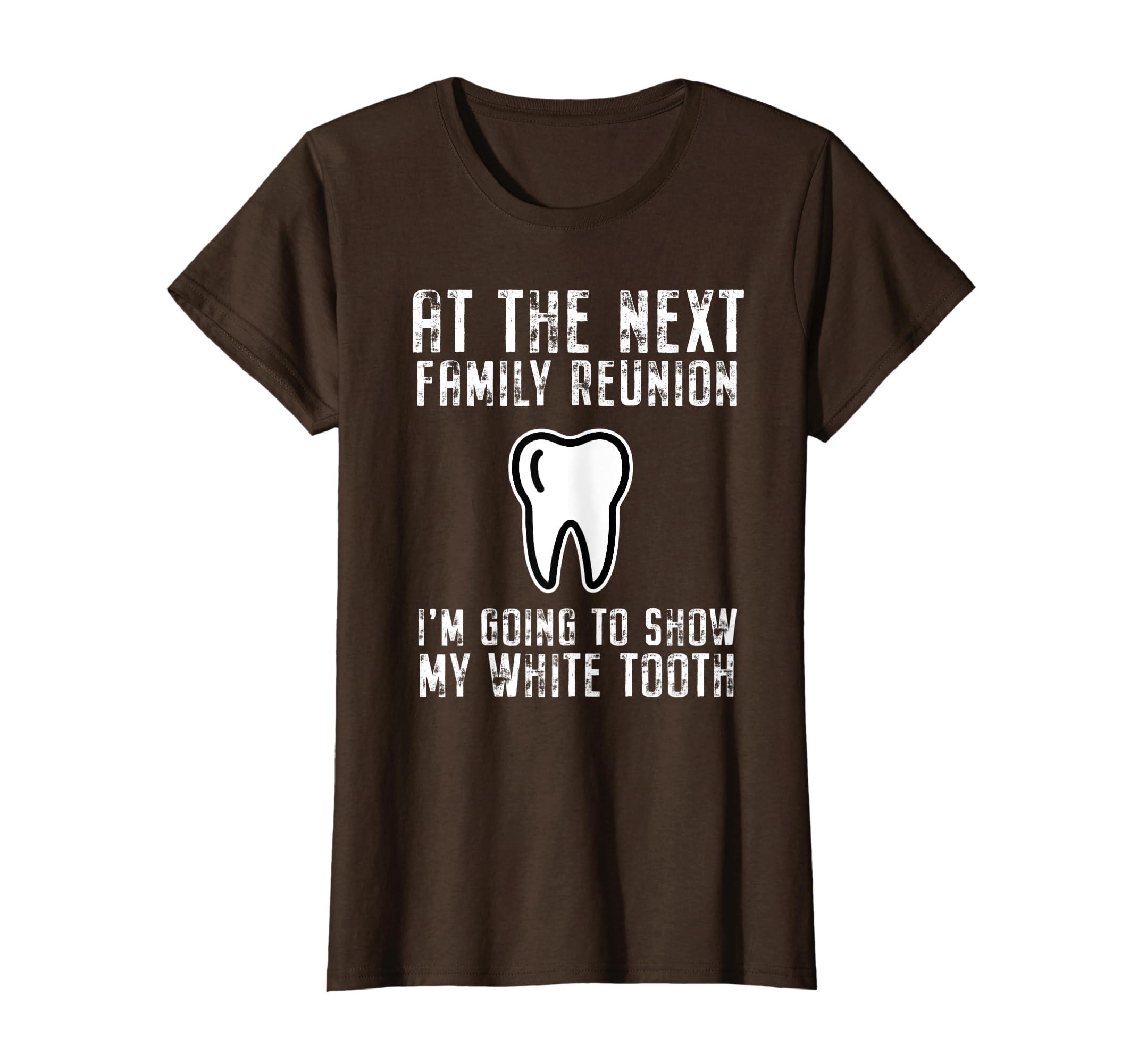 Amazon.com: Funny Family Reunion quote I\'ll show my white ...