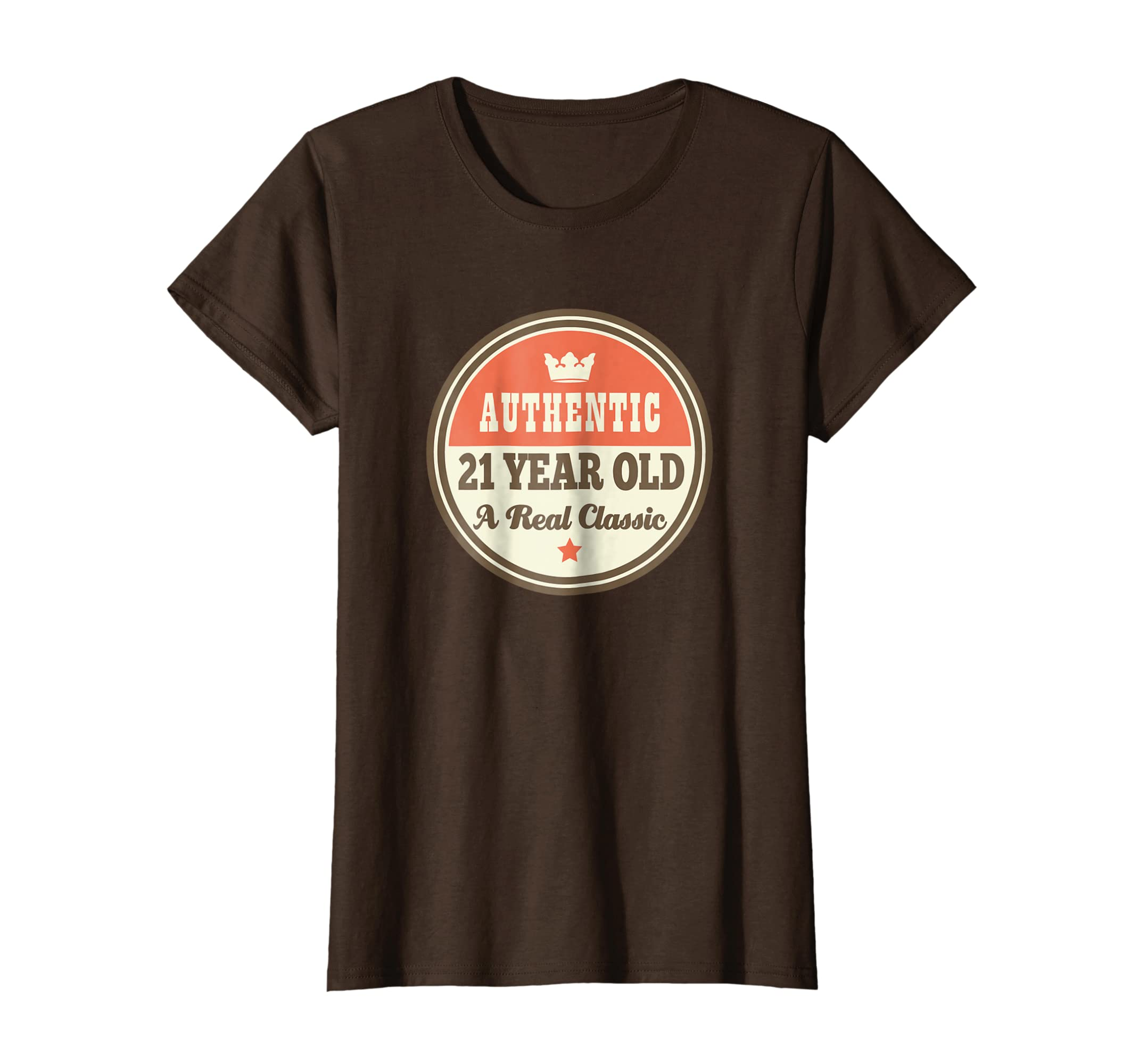Amazon 21st Birthday Shirts Vintage 21 Year Old Tee Gift Clothing