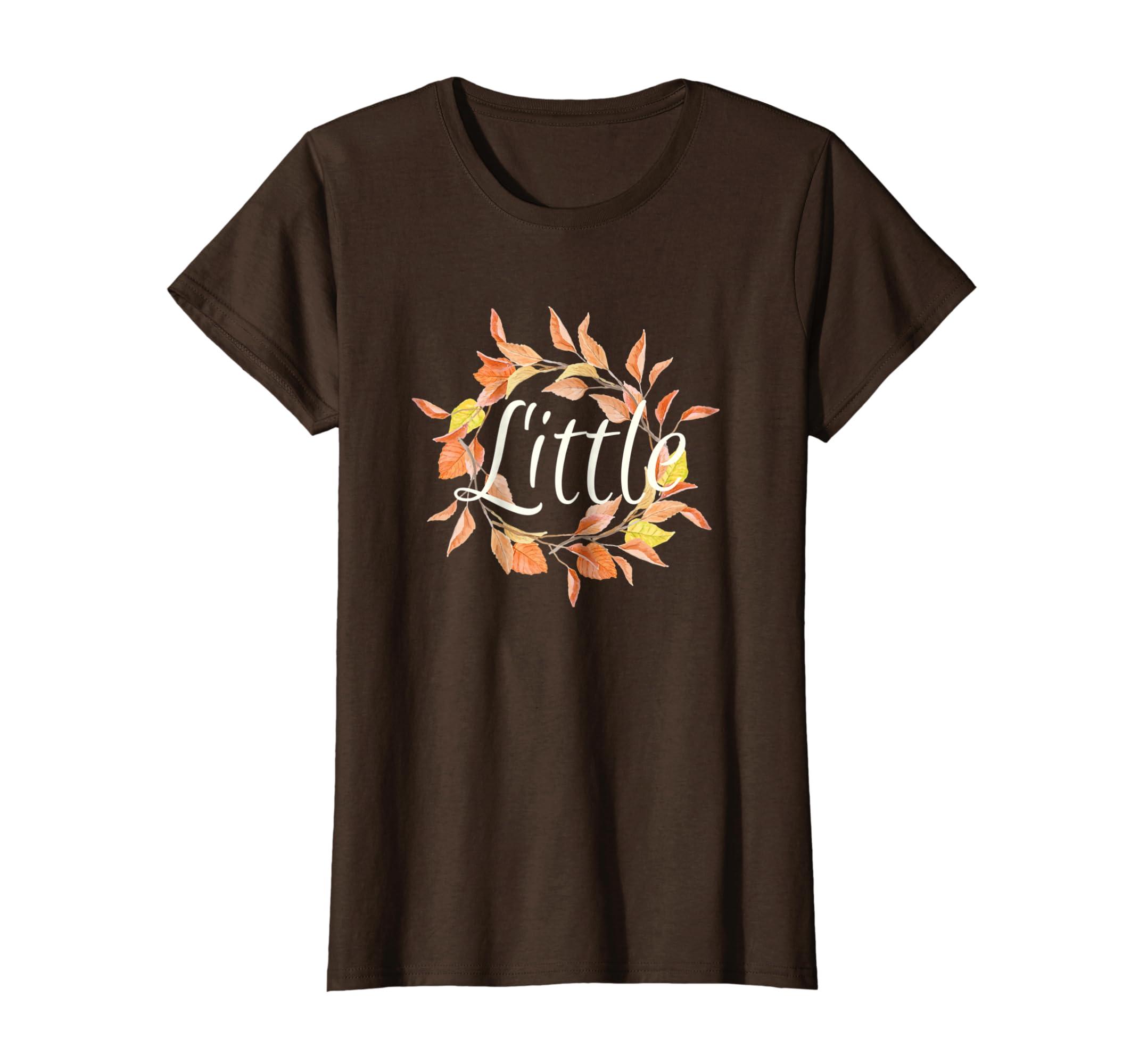 Autumn Fall Halloween Big Little Matching Sorority Shirt-Teechatpro