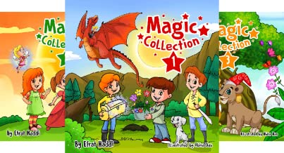 A preschool bedtime picture book for children ages 3-8 Magic Collection series (4 Book Series)