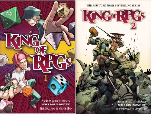 King of RPGs (2 Book Series)