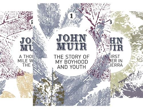 John Muir: The Eight Wilderness-Discovery Books (8 Book Series)