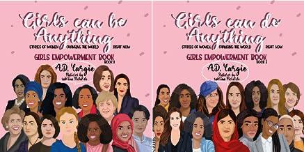Girls Empowerment Book Kids (2 Book Series)