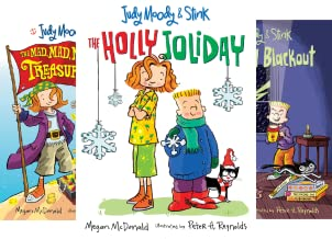 Judy Moody and Stink (4 Book Series)