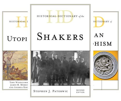 Historical Dictionaries of Religions, Philosophies, and Movements (51-67) (17 Book Series)