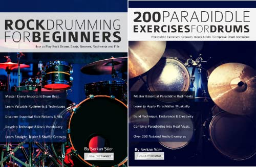 Learn to Play Drums (2 Book Series)